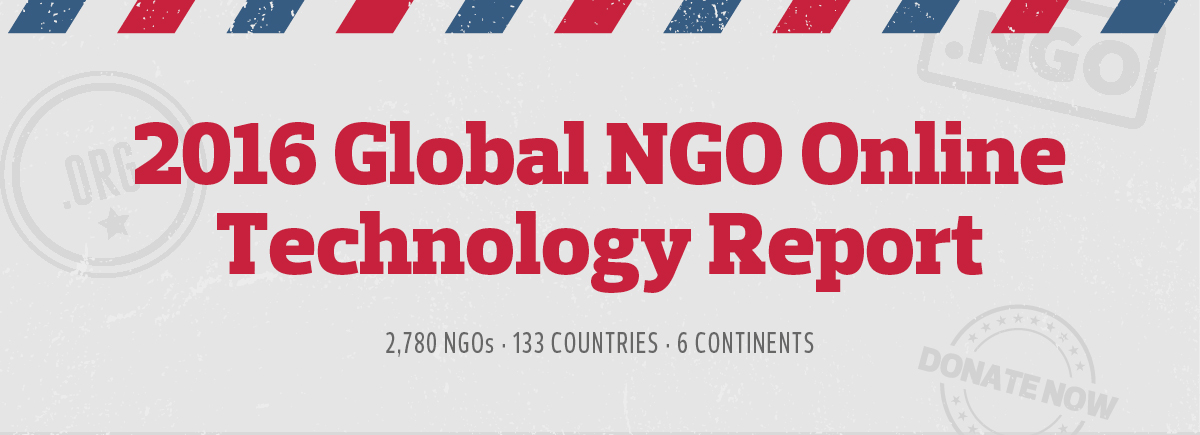 2016 Global NGO Online Tech Report