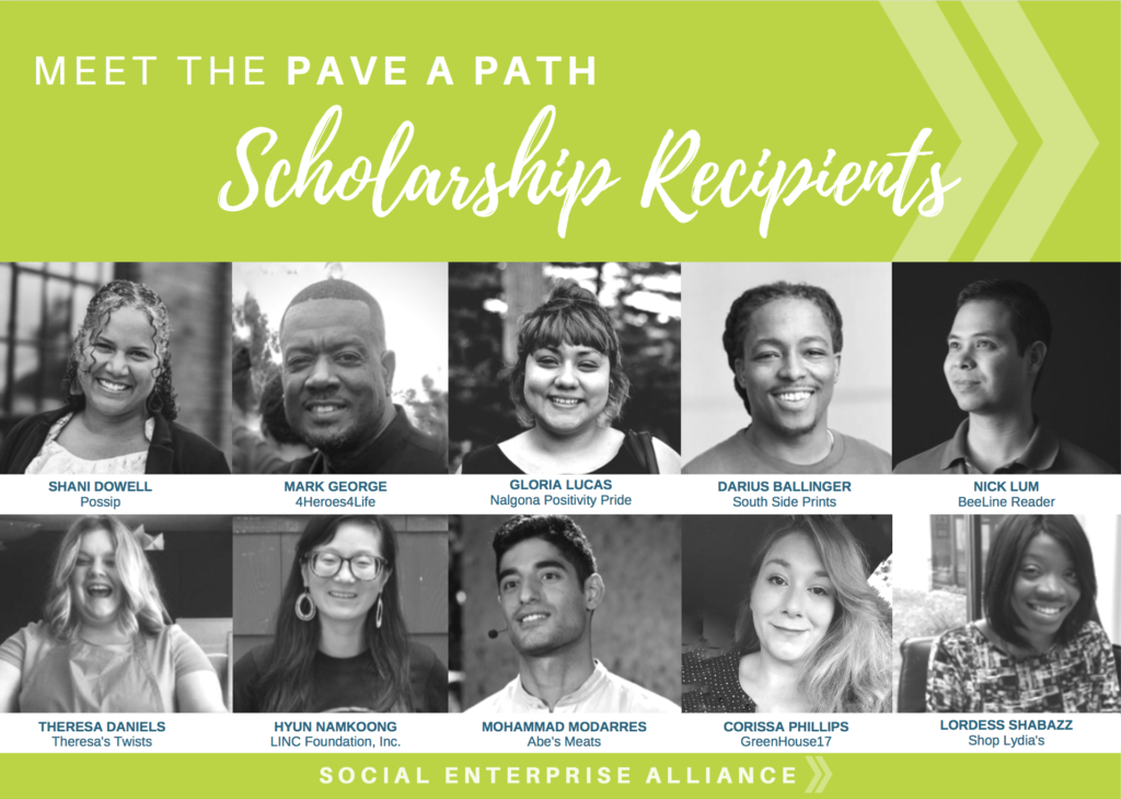 Meet the Pave a Path Scholarship recipients