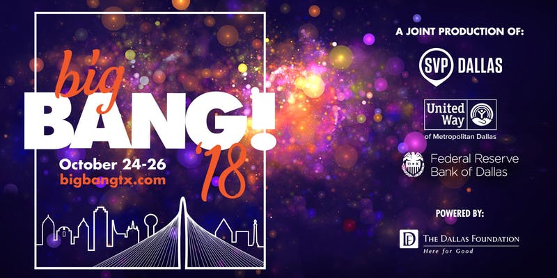 Join us at Big Bang October 24-16